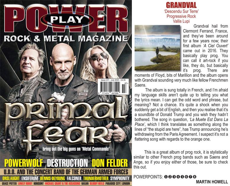 Powerplay - Rock and Metal, #231, July 2020.